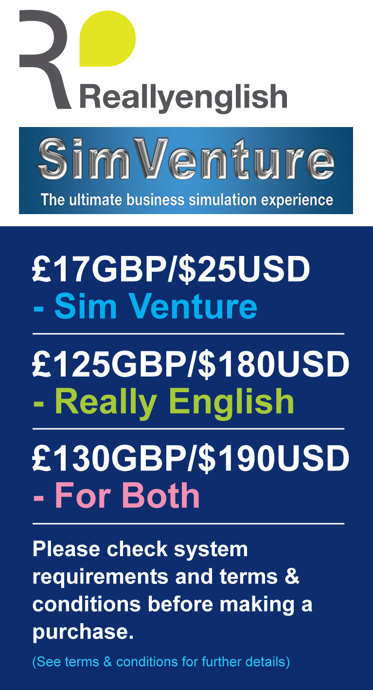 SimVenture + Really English